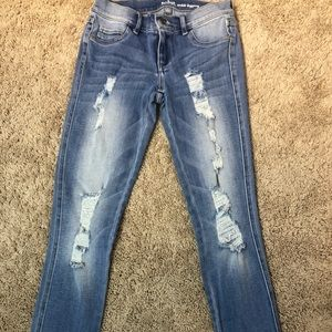 New York and Company Soho ankle legging jeans